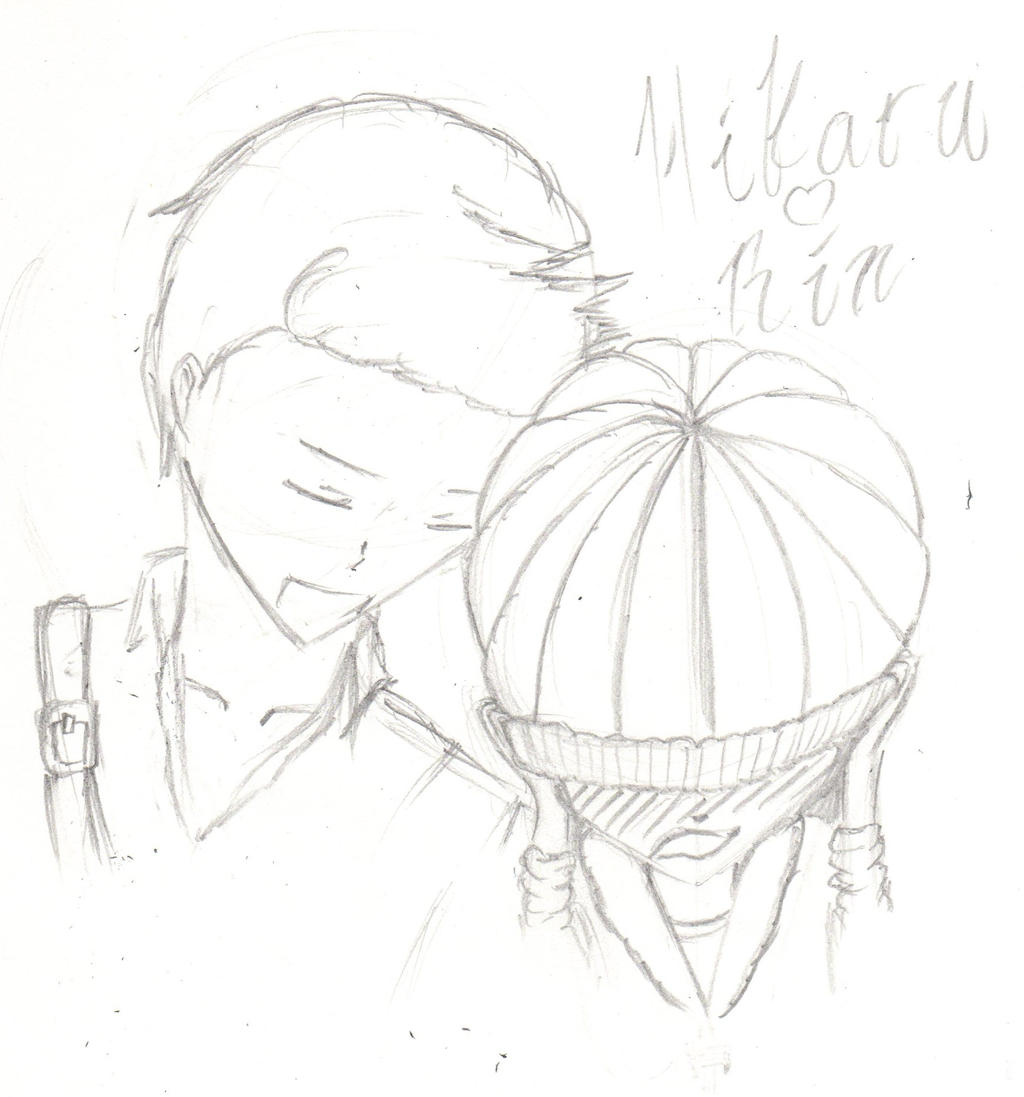 Hikaru and Rin by Ahtilak