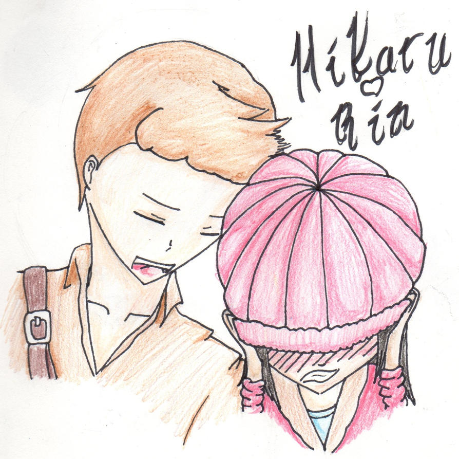 Hikaru and Rin (colored) by Ahtilak