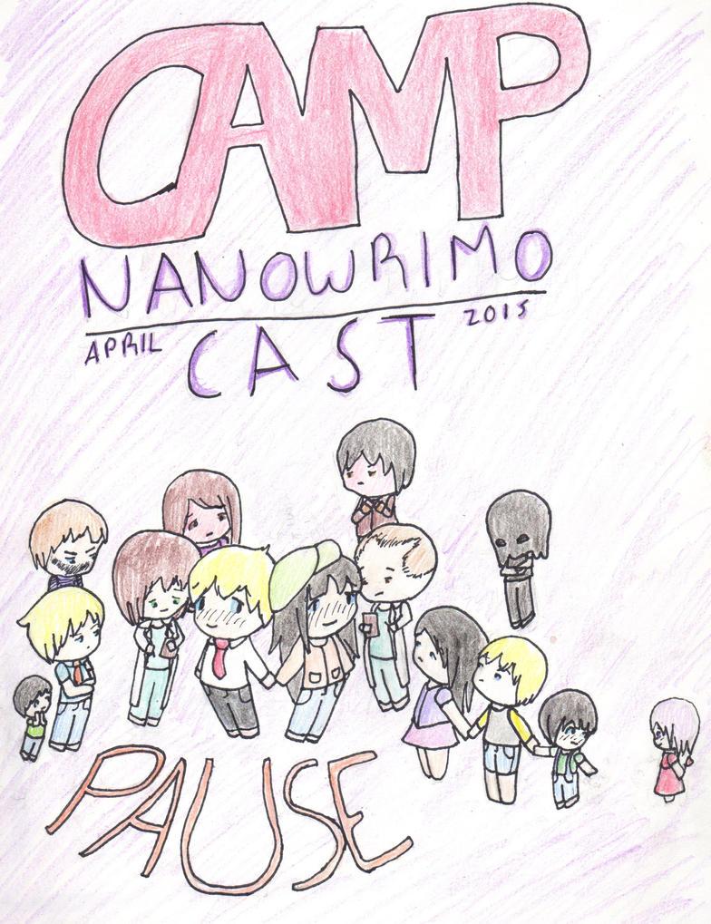 Camp Nanowrimo April 2015 Cast (Pause) by Ahtilak