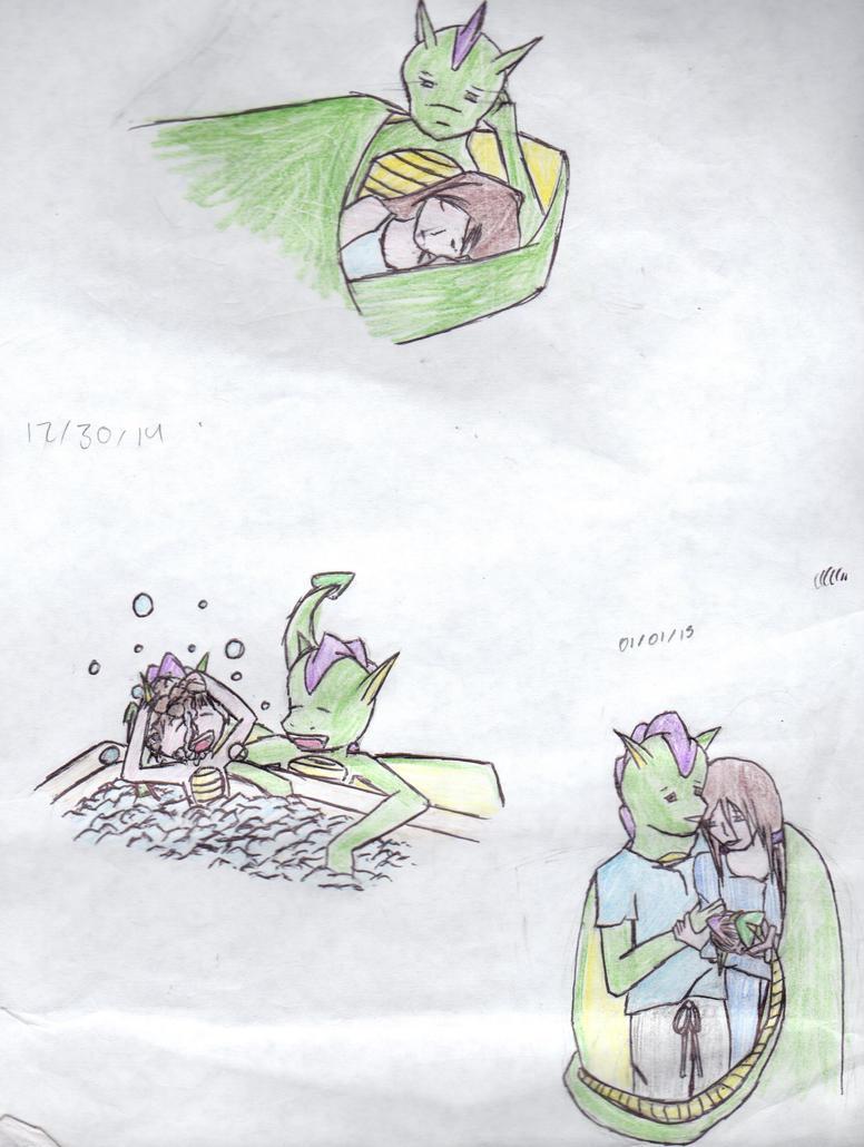 Zack and Zaren Collage 02 by Ahtilak