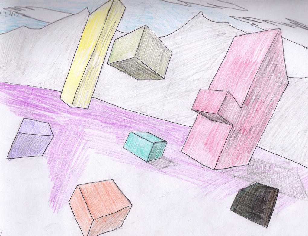 2-point Perspective by Ahtilak