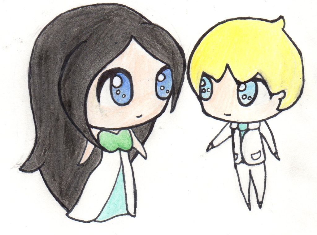 Thrine and Klese Chibies! by Ahtilak