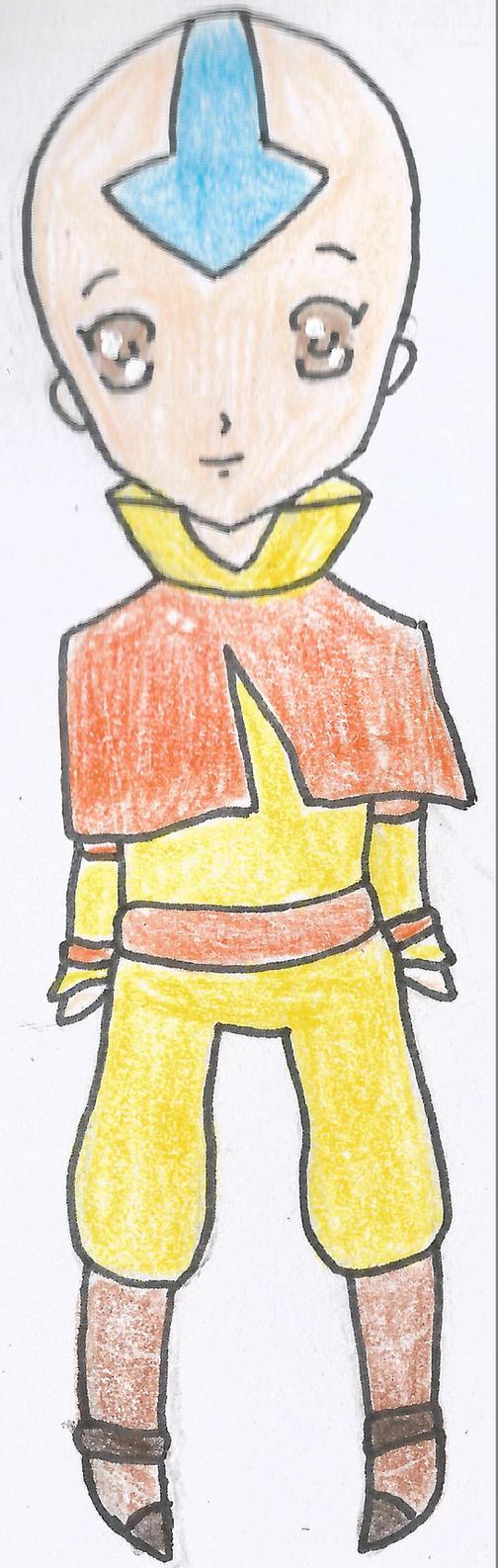 Aang Chibi One by Ahtilak
