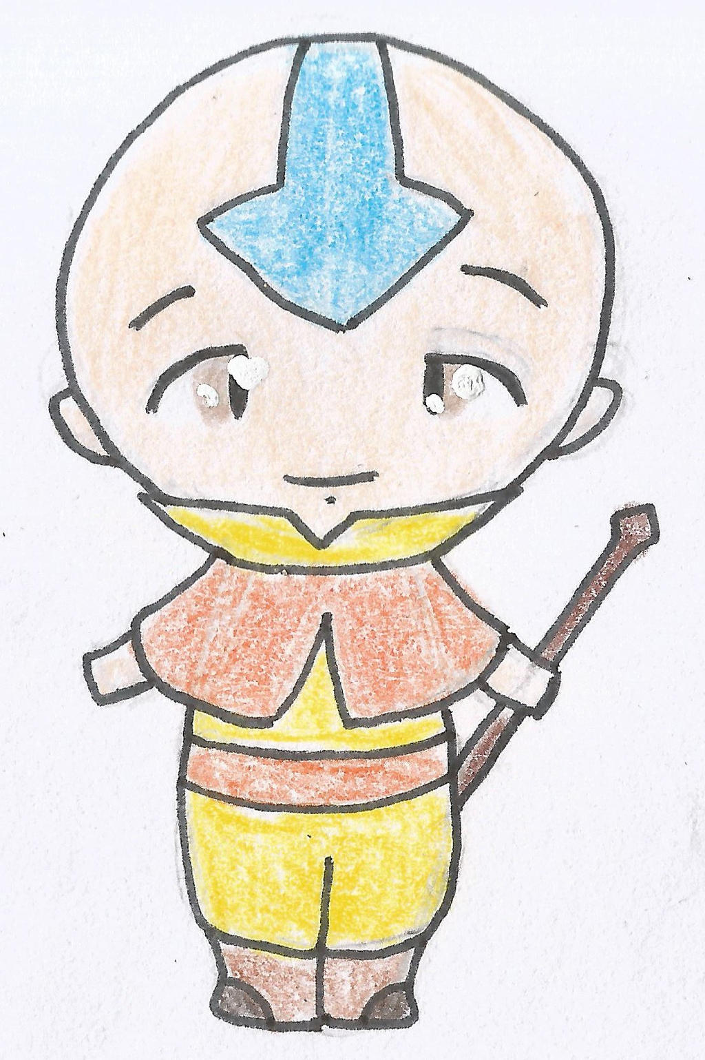 Aang Chibi Two by Ahtilak