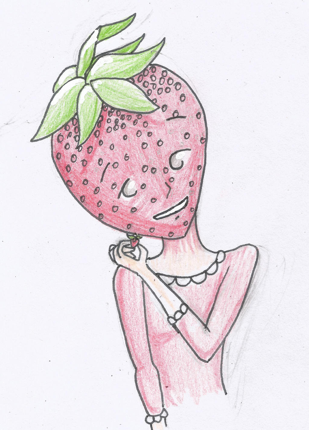 Bella and her Straberry by Ahtilak