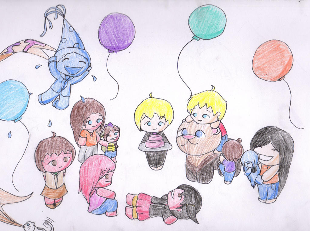 Hapy Birthday Morti! by Ahtilak