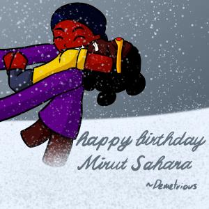 Happy Birthday Mirut Sahara ~Demetrious by Ahtilak