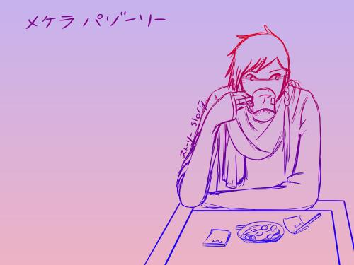 Pazori Cafe Sketch by Ahtilak