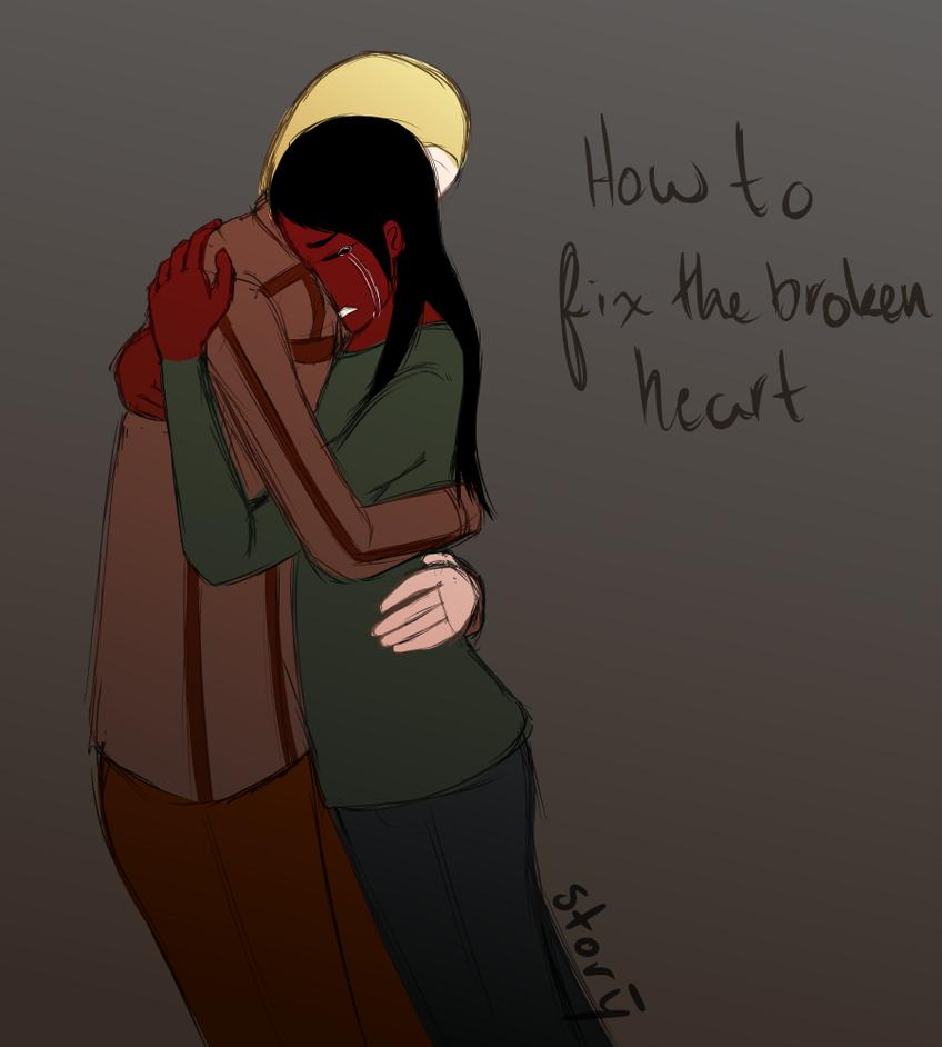 How to Fix the Broken Heart by Ahtilak