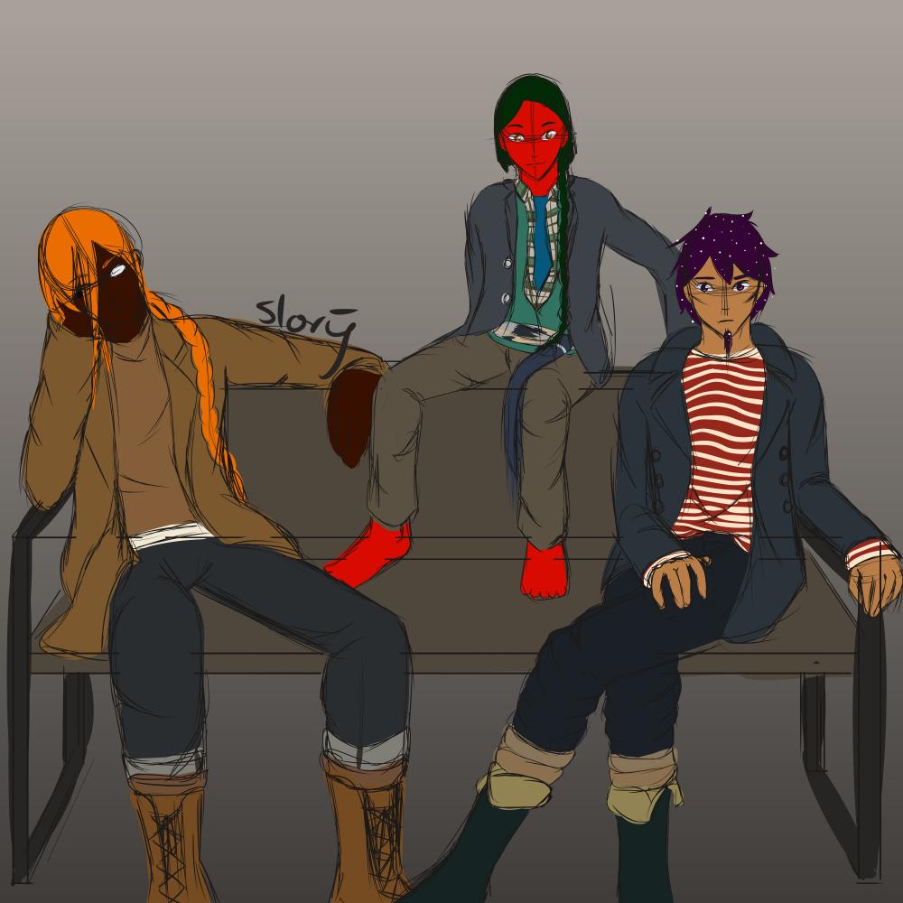 Three Guys on a Bench aka: NSG by Ahtilak