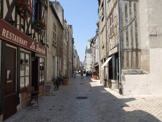 France 37: a street in Orleans