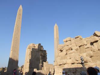 obelisks at Karnak