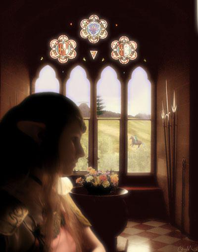 Flowers for Zelda by TheInnocentDevil