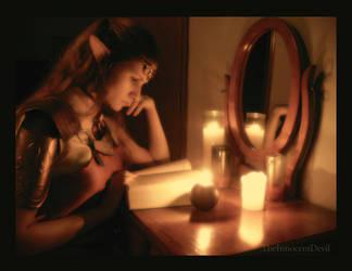 Zelda at Study by TheInnocentDevil