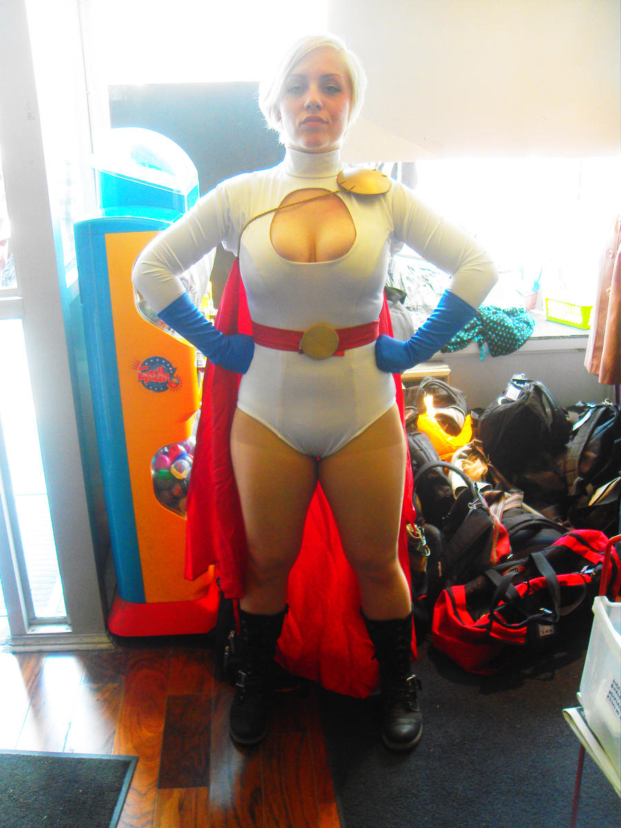 Power Girl by Neville6000