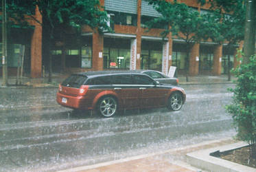 A Magnum In The Rain by Neville6000