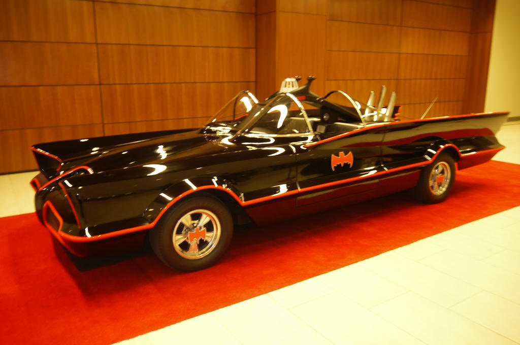 The Classic Batmobile #3 by Neville6000