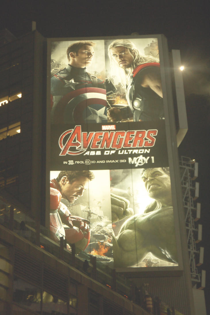 Avengers Over Yonge And Dundas #3 by Neville6000