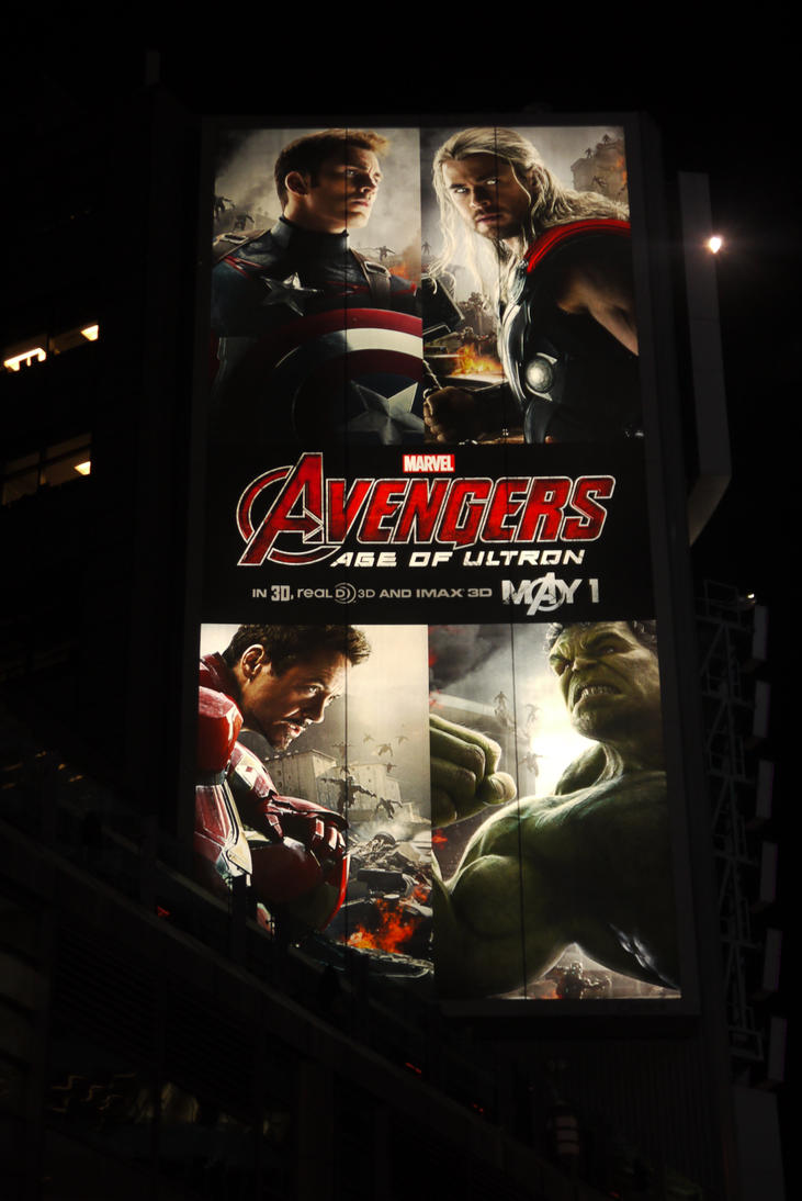 Avengers Over Yonge And Dundas #4 by Neville6000