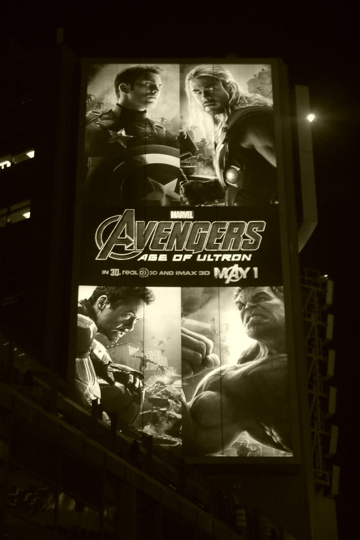 Avengers Over Yonge And Dundas #5 by Neville6000