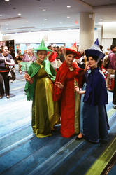 Flora, Fauna, and Merryweather by Neville6000