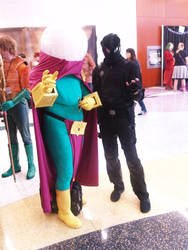 Mysterio And Spider-Man