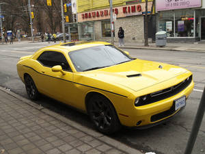 The Yellow Challenger On Queen