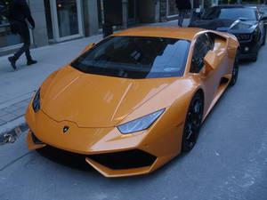 The Orange Lamborghini