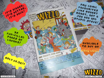 The Wizzo Comic - Issue 3 Advert by Wizzo-Comic
