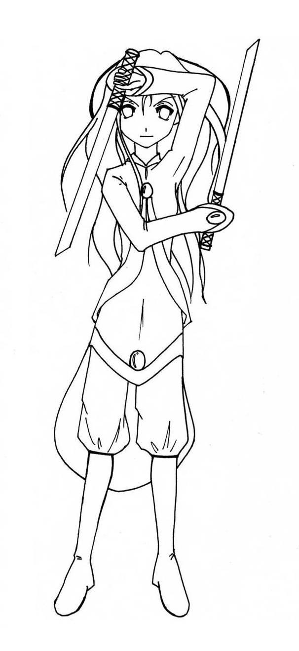 Nebride the teen warrior