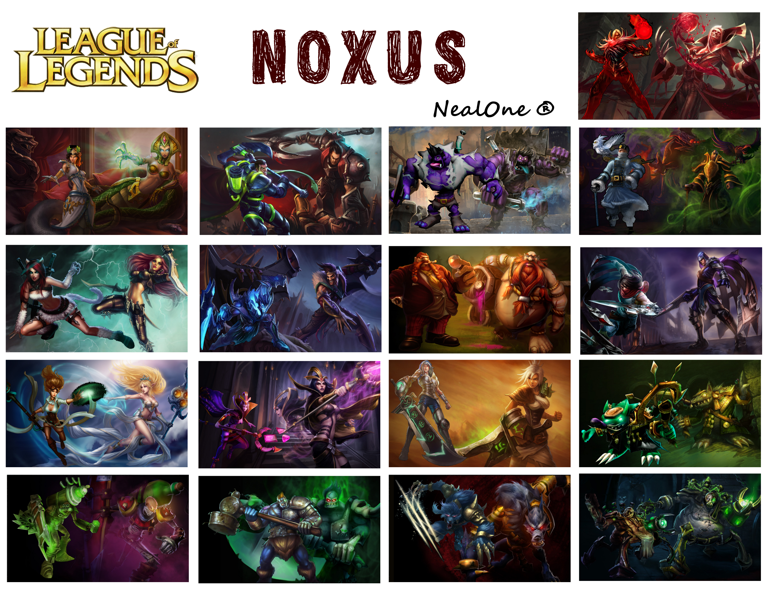 Noxus - Champions by NealOne on DeviantArt