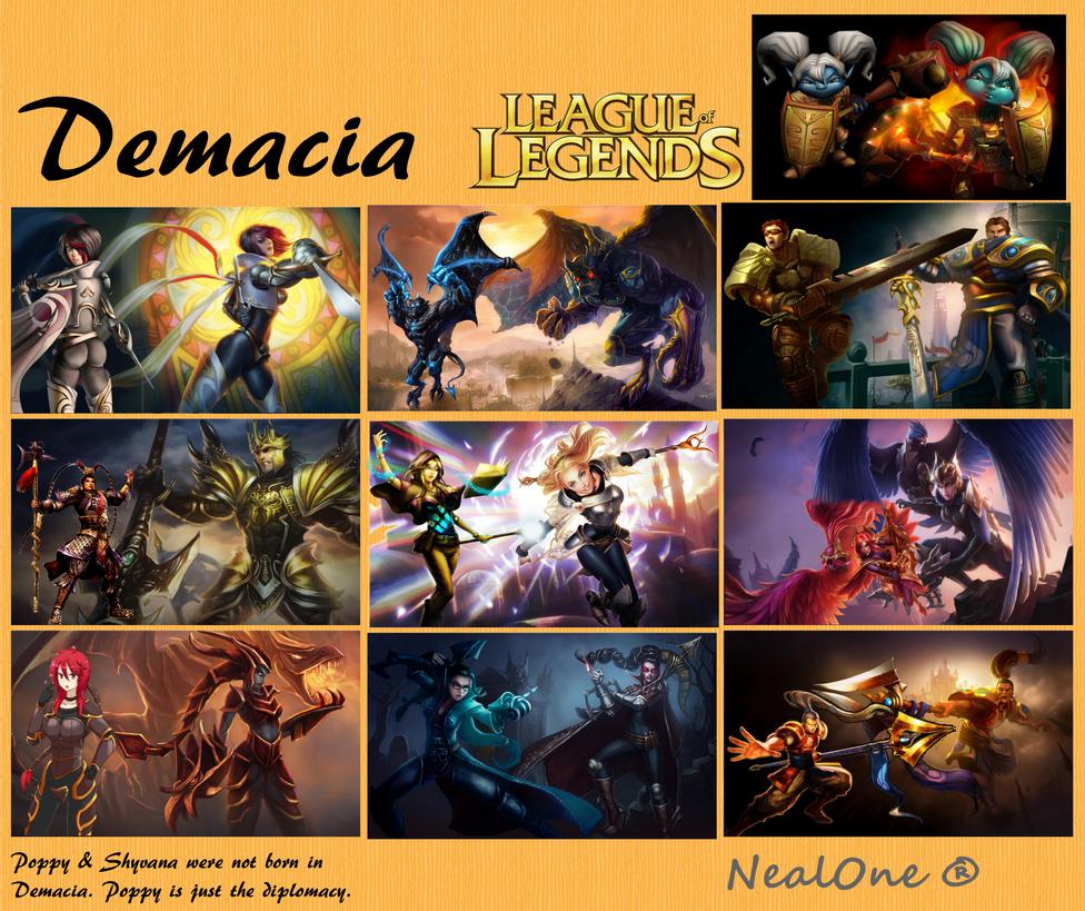 demacia champions