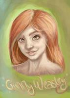 Ginny Weasley by creative-mind