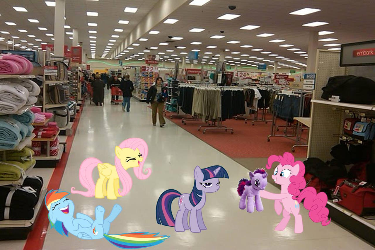 Ponies in Target by dontae98
