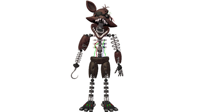 zombielord45 (Robert) | DeviantArt |Ignited Foxy Full Body