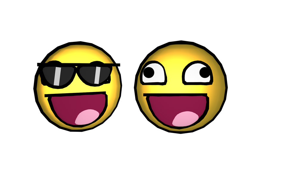 Awesome Face Emoji Download! + Glasses by JoseTheMaker on ...
