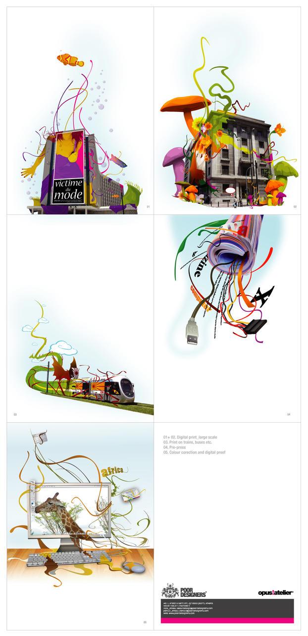 opus atelier_illustrations by PoorDesigners