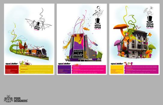 Opus, magazine advertisments