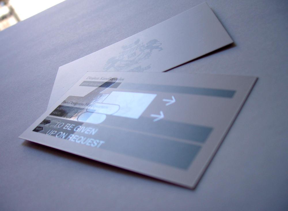 PoorDesigners Stationary_card by PoorDesigners