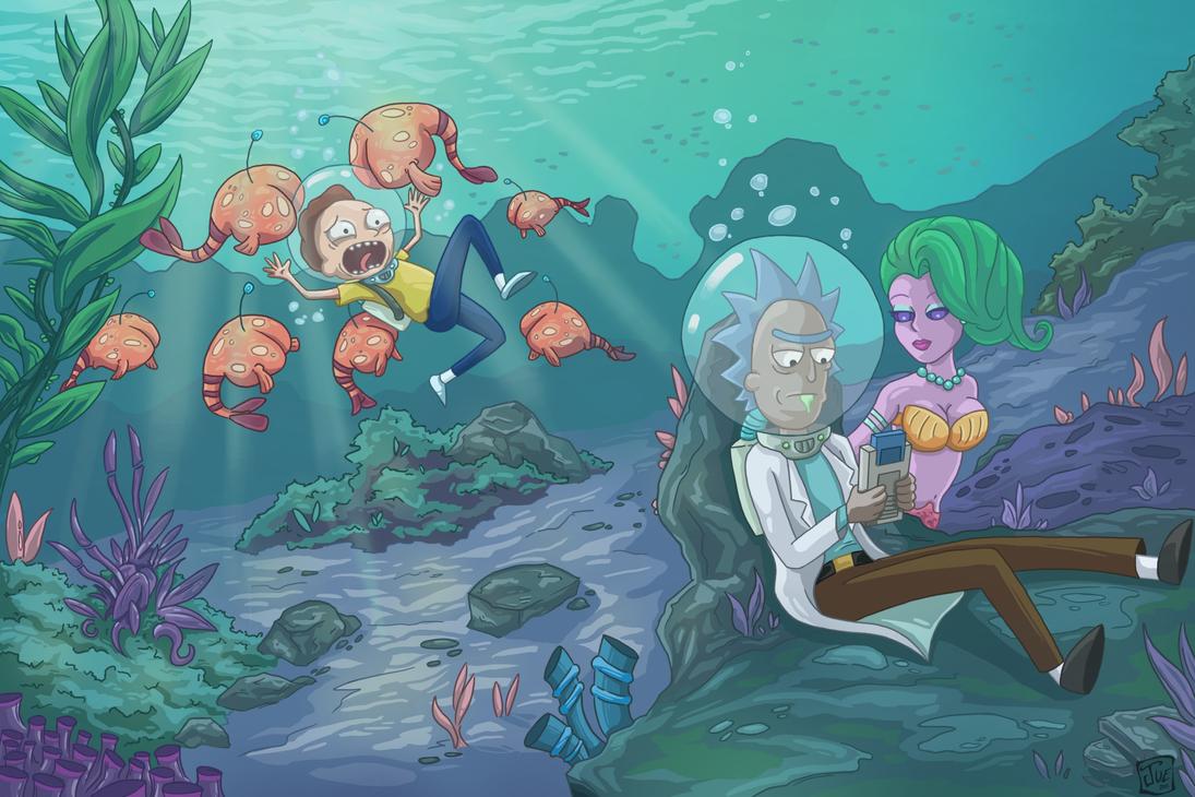 Deep Sea Boredom by WaffleJuey