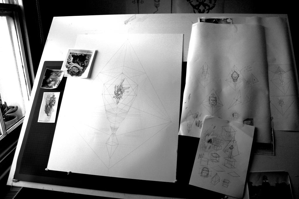 my desk - work in progress