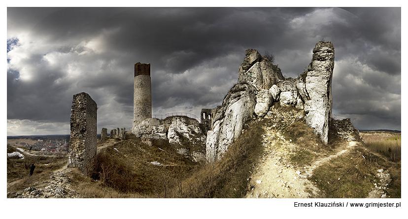 Olsztyn Castle by Grim-Jester