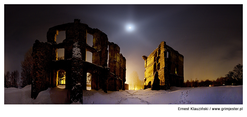 Bodzentyn Castle by Grim-Jester