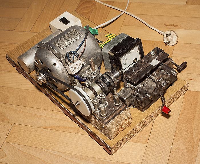 Jak zrobić mini tokarke do metalu