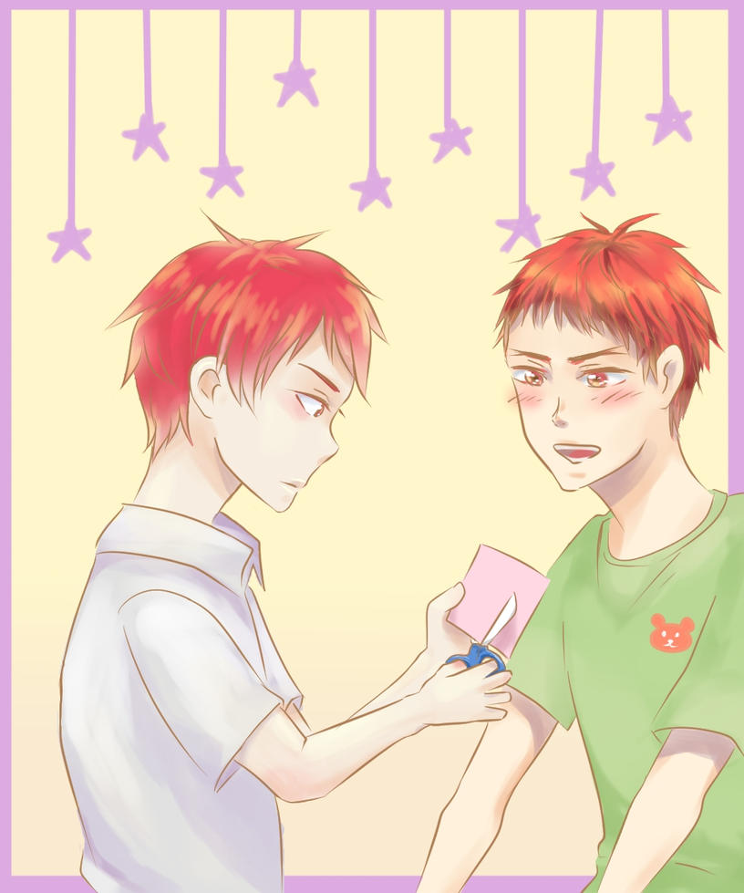 Akashi and Kagami by pop2810