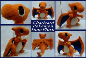 Pokemon Charizard Time Plush by Megas-Arts
