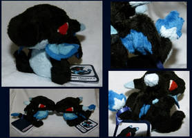 FOR SALE Mega Charizard X - Pokedoll Style by Mega-Arts