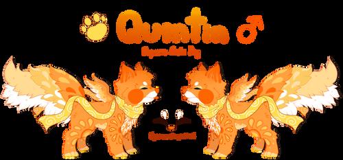 Reference Sheet - Quintin the Supreme Sushi Dog by Mega-Arts