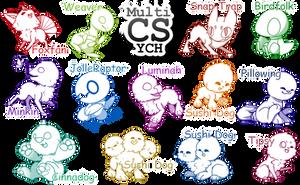 [Open] Huge Multi-CS Chibi YCH by Mega-Arts
