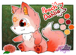 [CLOSED] Minchi:. Raffle! - Peach Dahlia